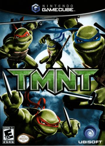 Tmnt Teenage Mutant Ninja Turtles Gamecube Game Nintendo Gamecube Games Tmnt Gamecube Games