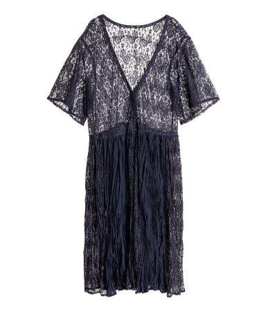 H M Wide-cut Lace Dress  30  f114c4b83
