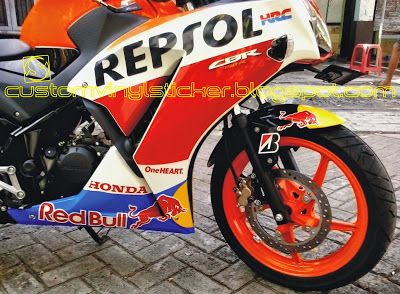 New Honda Cbr150r Repsol Red Bull Sticker Honda Cbr150