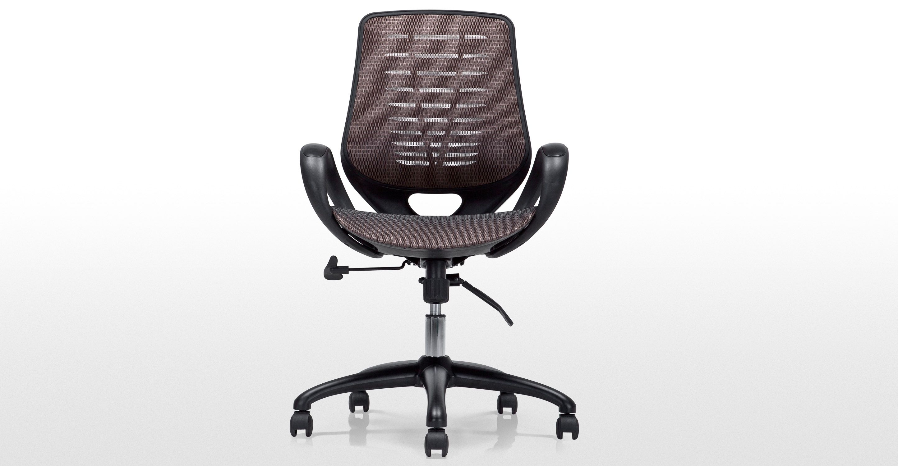 Buro Swivel Office Chair, Bronze Black office chair