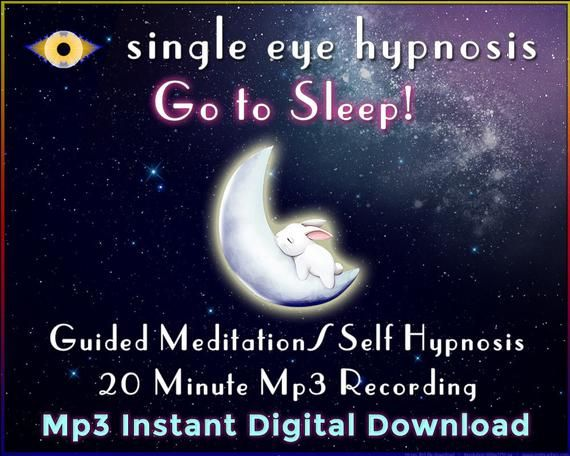 Go to Sleep! Instant download guided meditation / self-hypnosis to