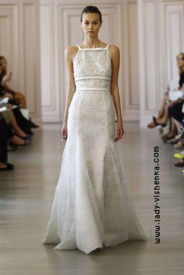 Weiße brautkleider Oscar De La Renta | Brautkleider | Pinterest