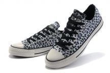 undefeated x authentic low priced Grey leopard print Converse   Shoes   Converse shoes for ...