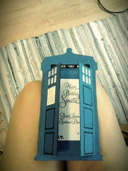 DIY TARDIS birthday card | Doctor Who Birthday Party ...