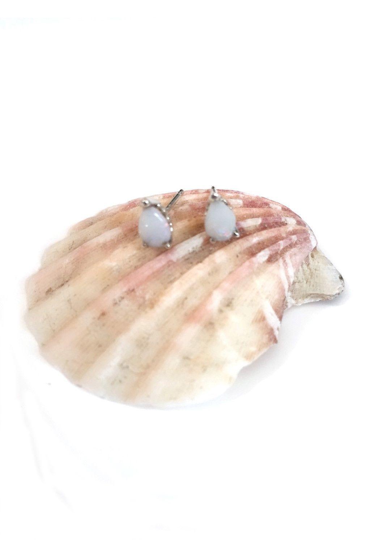 Edwardian Opal Earrings