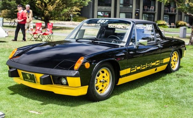 1974 Porsche 914 2 0 Limited Edition Creamsicle 1 Of