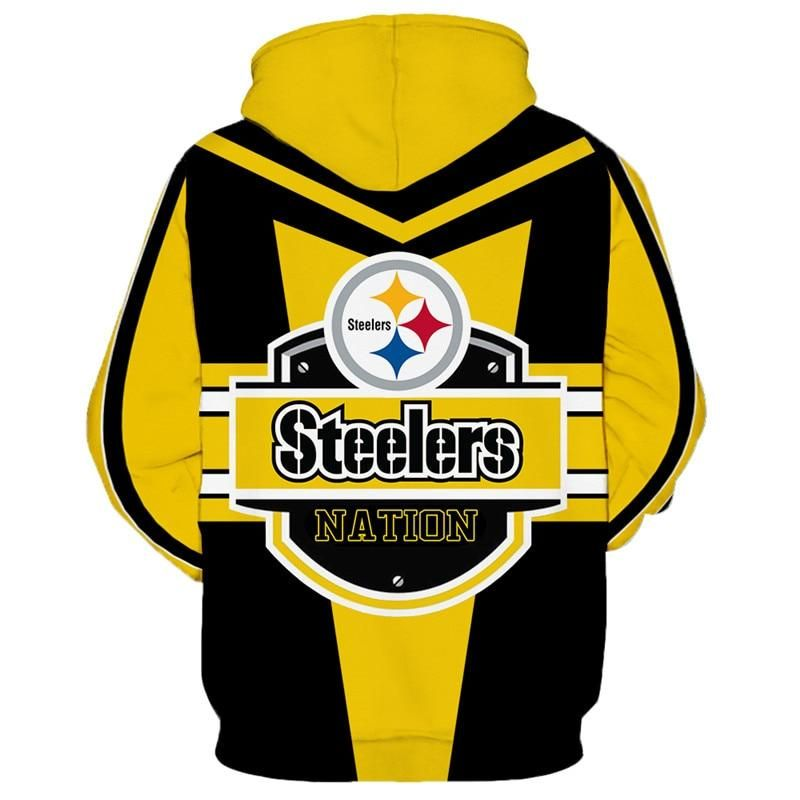 newest collection afb26 b8515 NFL Football Pittsburgh Steelers Hoodies On Sale Sweatshirt ...