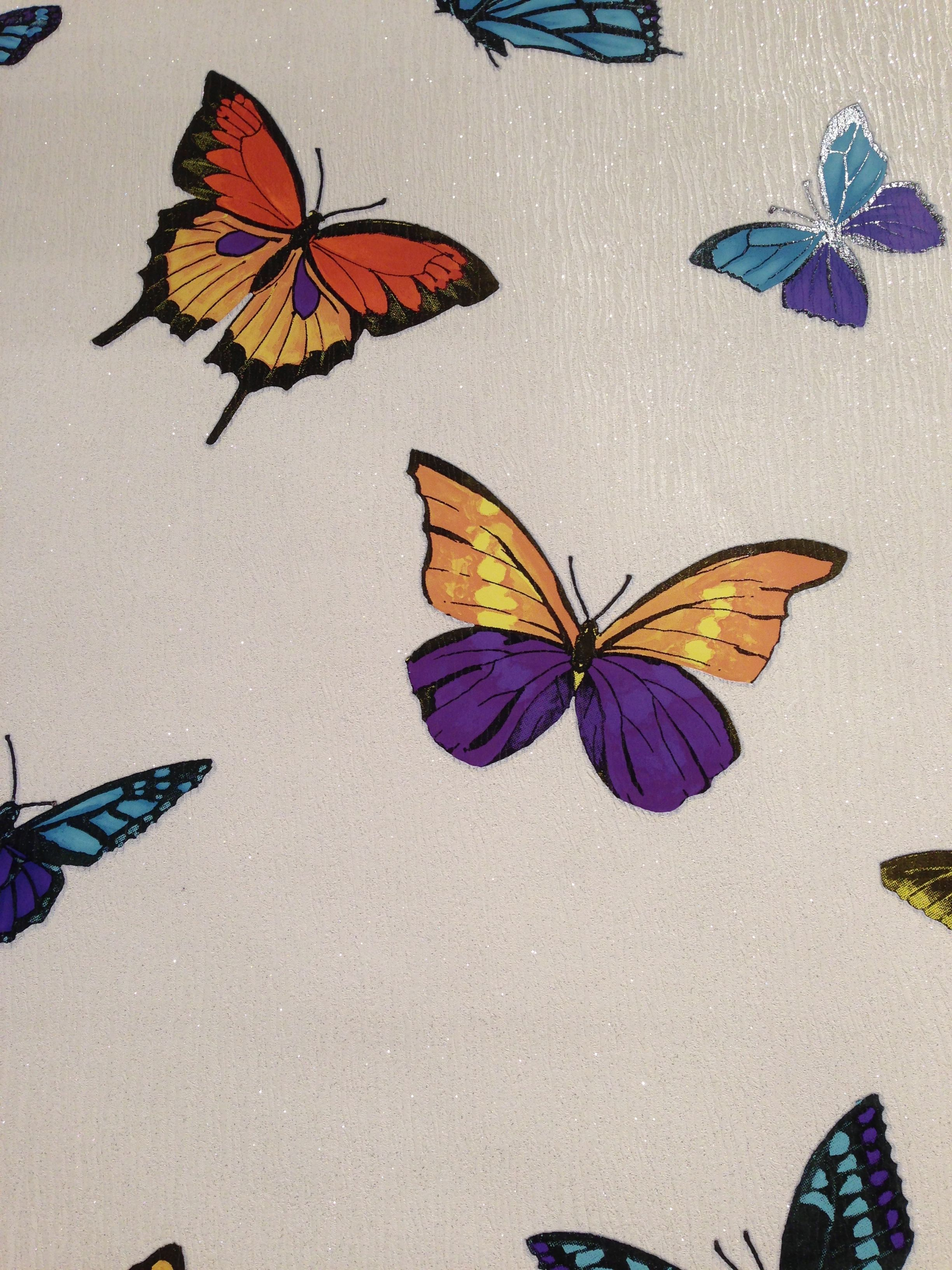 The flutterby wallpaper can make you feel at one with for Flutterby wallpaper