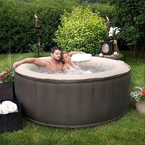Therapurespa EST5868 4 Person Inflatable #Portable #Hot #Tub With Storage  Bag Full