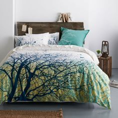Image Result For Tree Pattern Oversized Queen Comforter Set