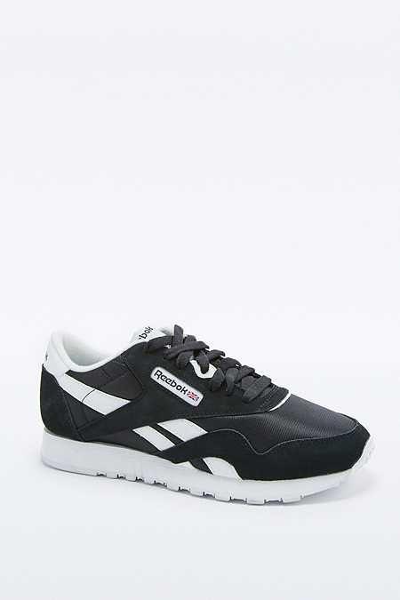 reebok classic black trainers