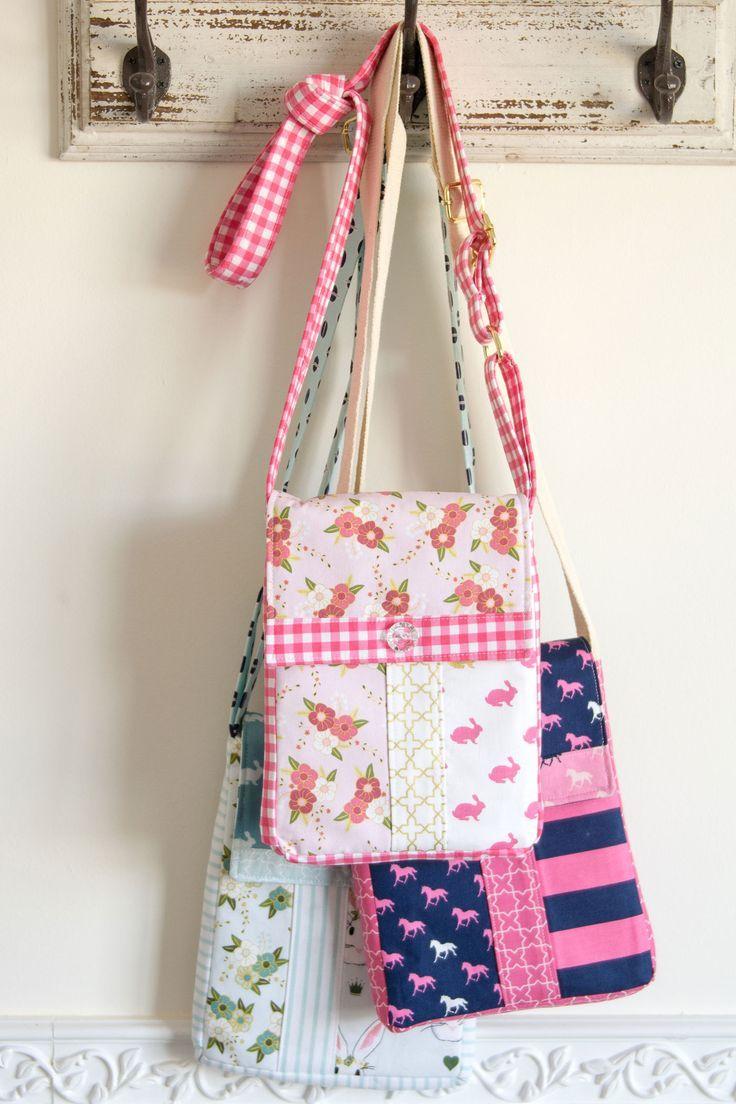 Cross Body Bag Sewing Pattern   Pinterest   Taschen nähen und Nähen