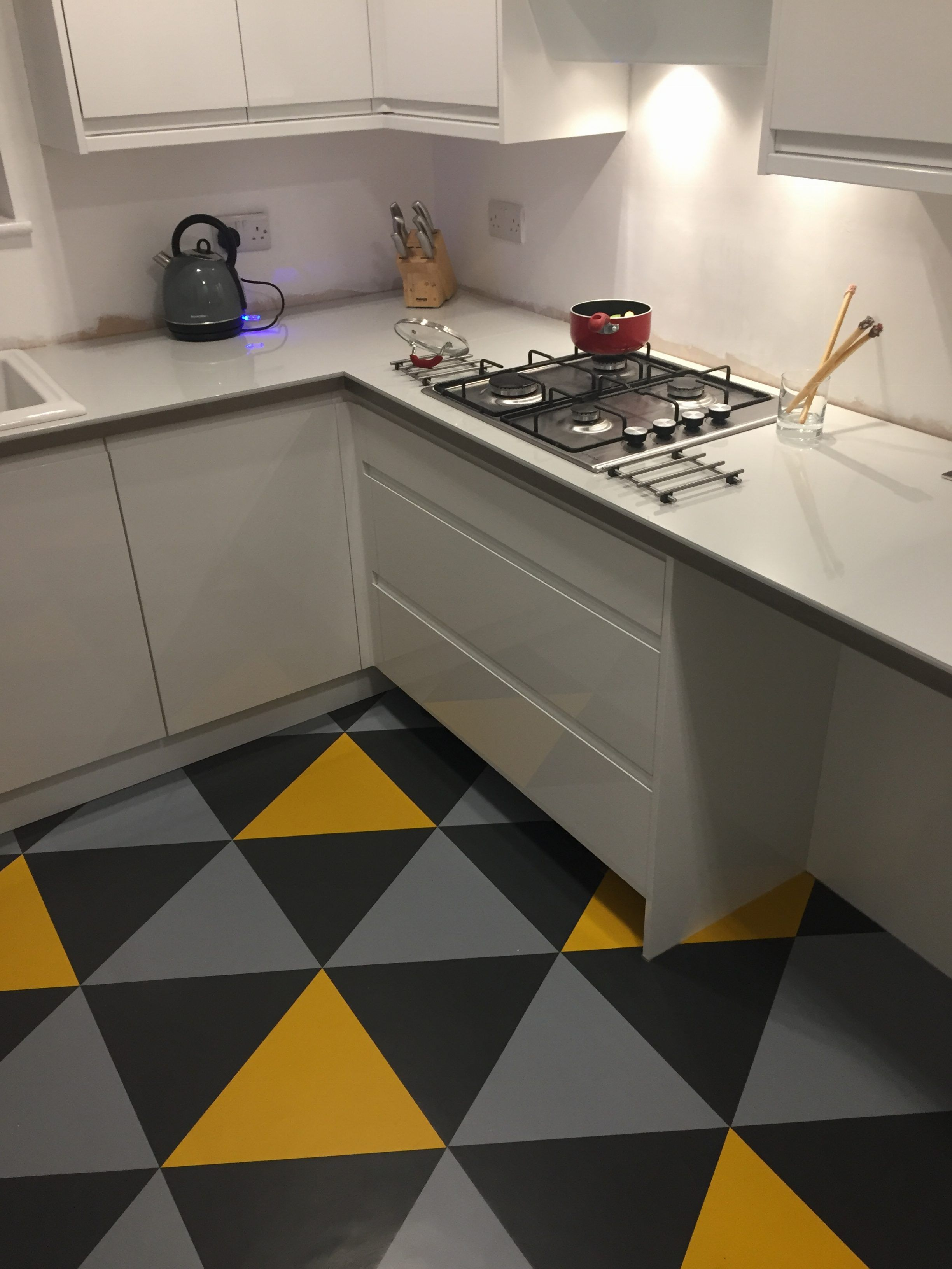 My Rubber Floor Tiles From The Colour Flooring Company Have Been