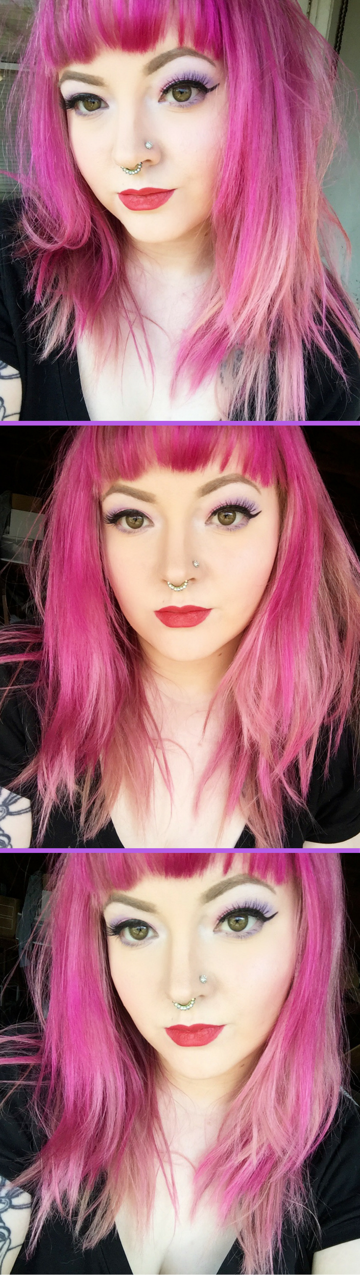 Pink Hair Using Arctic Fox Virgin Pink I Mixed A Little Bit With
