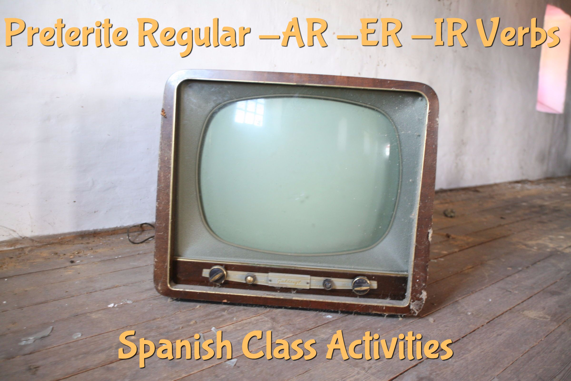 Preterite Regular Ar Er Ir Verbs Spanish Class Activities Spanish Learning Activities Spanish Class Preterite [ 1600 x 2400 Pixel ]