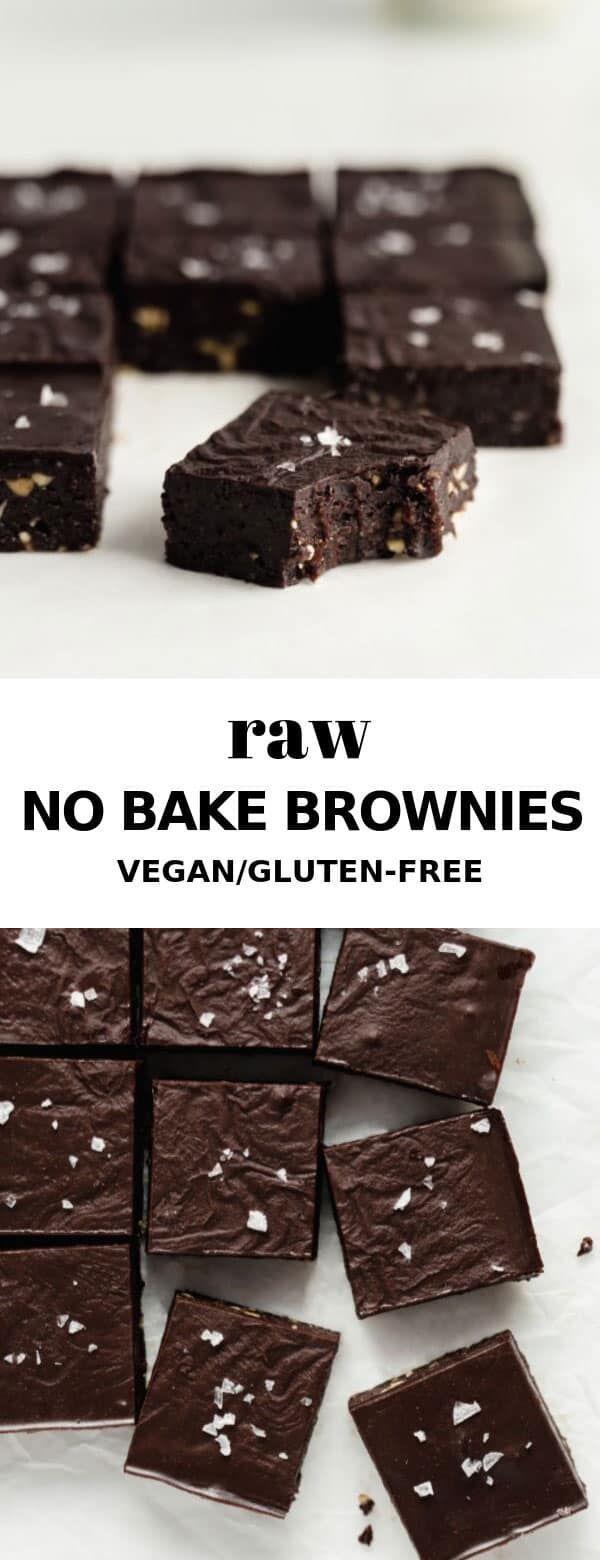 No bake brownies -