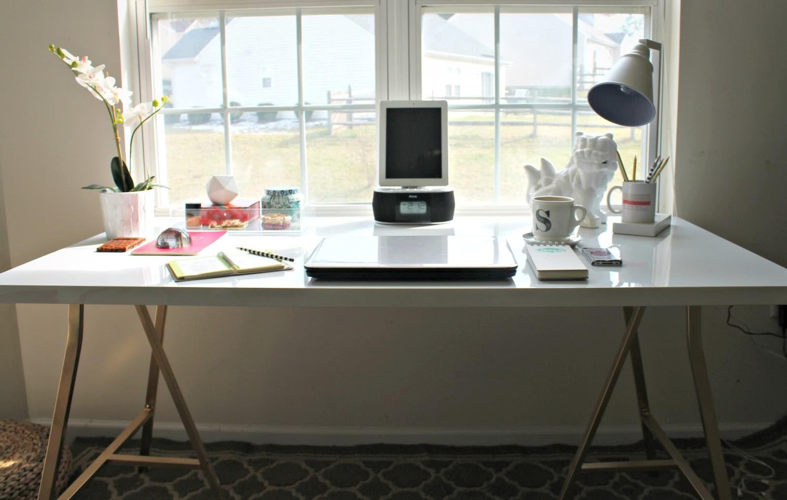 ikea office hacks. IKEA-Standing-Desk-Hacks.jpg (1600×1016) Ikea Office Hacks