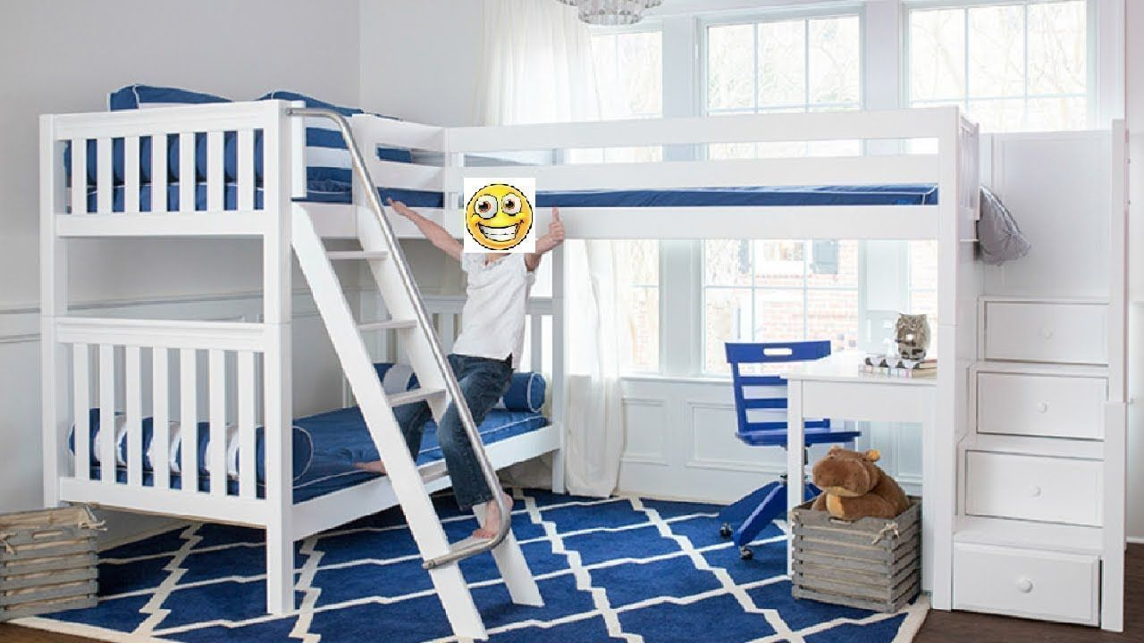 Loft bed ideas for girls  Bunk Bed Ideas For Boys And Girls  Best Bunk Beds Designs Part