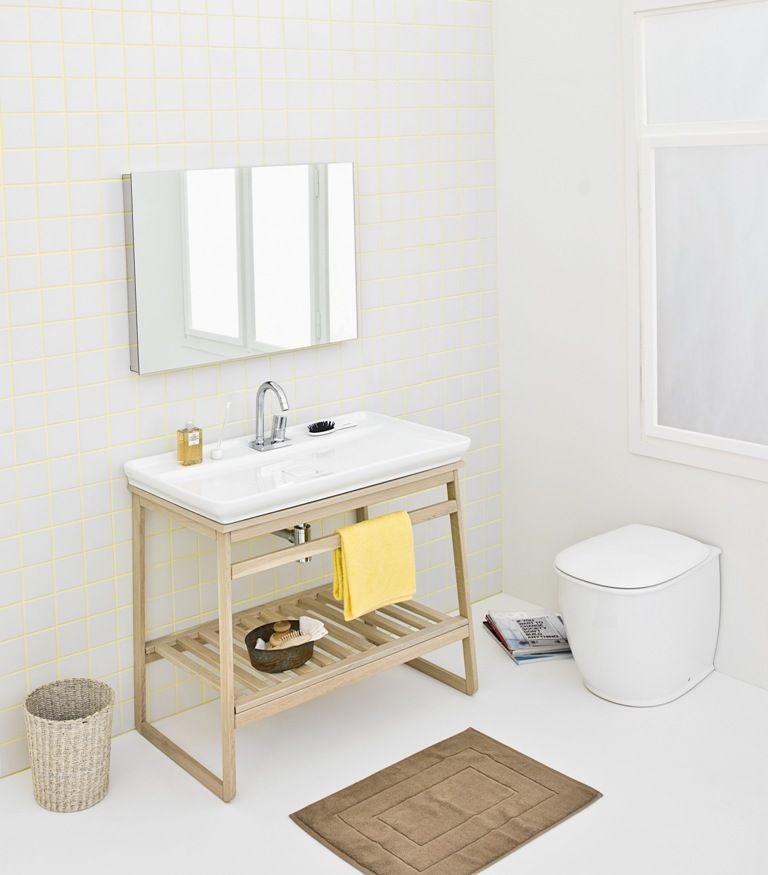 Naked and trapezio design meneghello paolelli associati - Mobile bagno rovere sbiancato ...