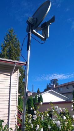 Tv Antenna From A Satellite Dish