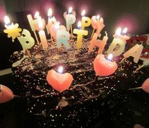 Inspiring image baking birthday cake candles chocolate 257859