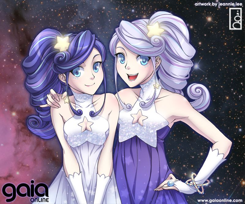 Anime Characters Gemini : Realistic anime characters different skin color lonely
