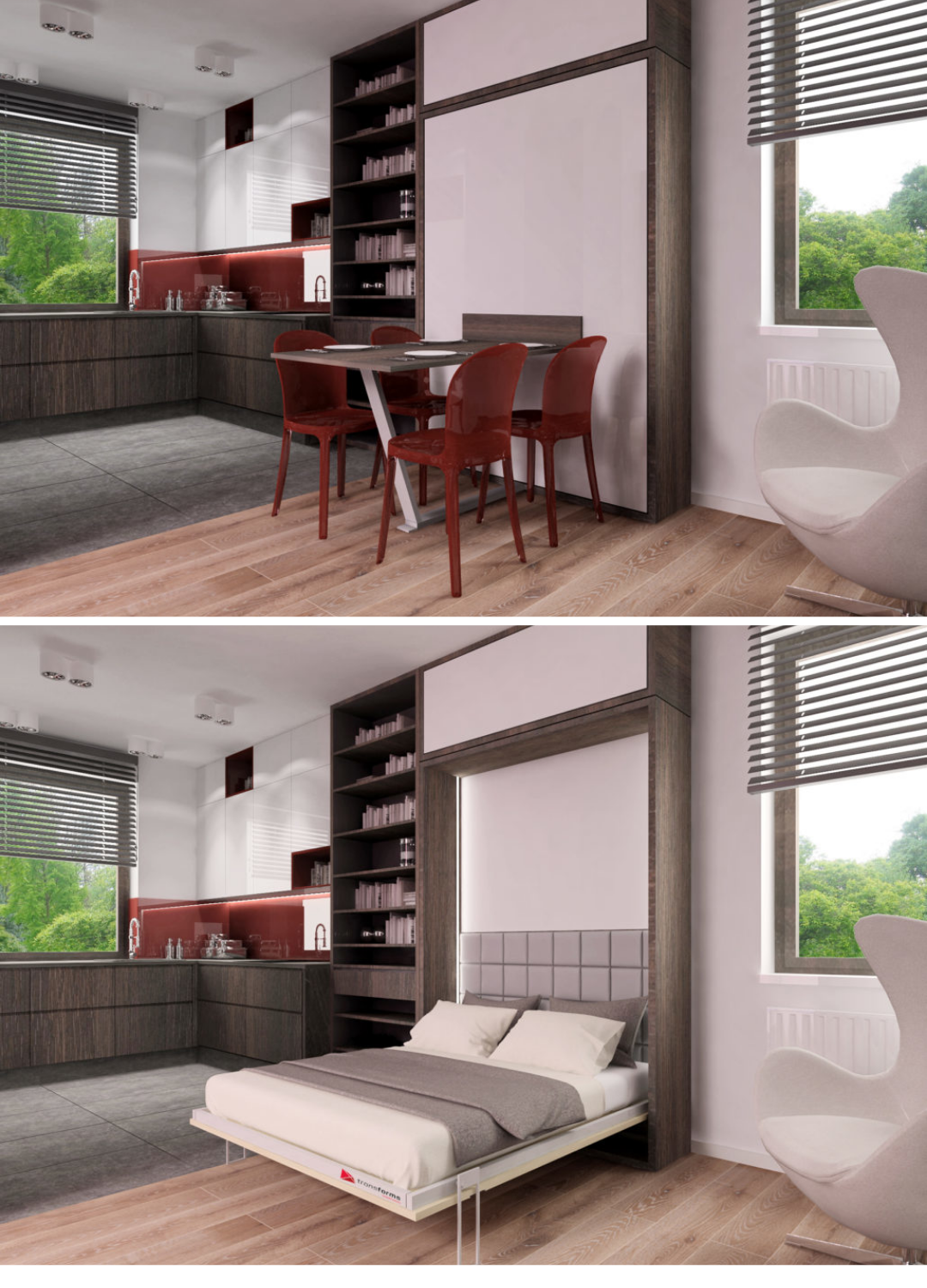 Pin By Martin Vrana On Smart Bedroom Furniture Design Space