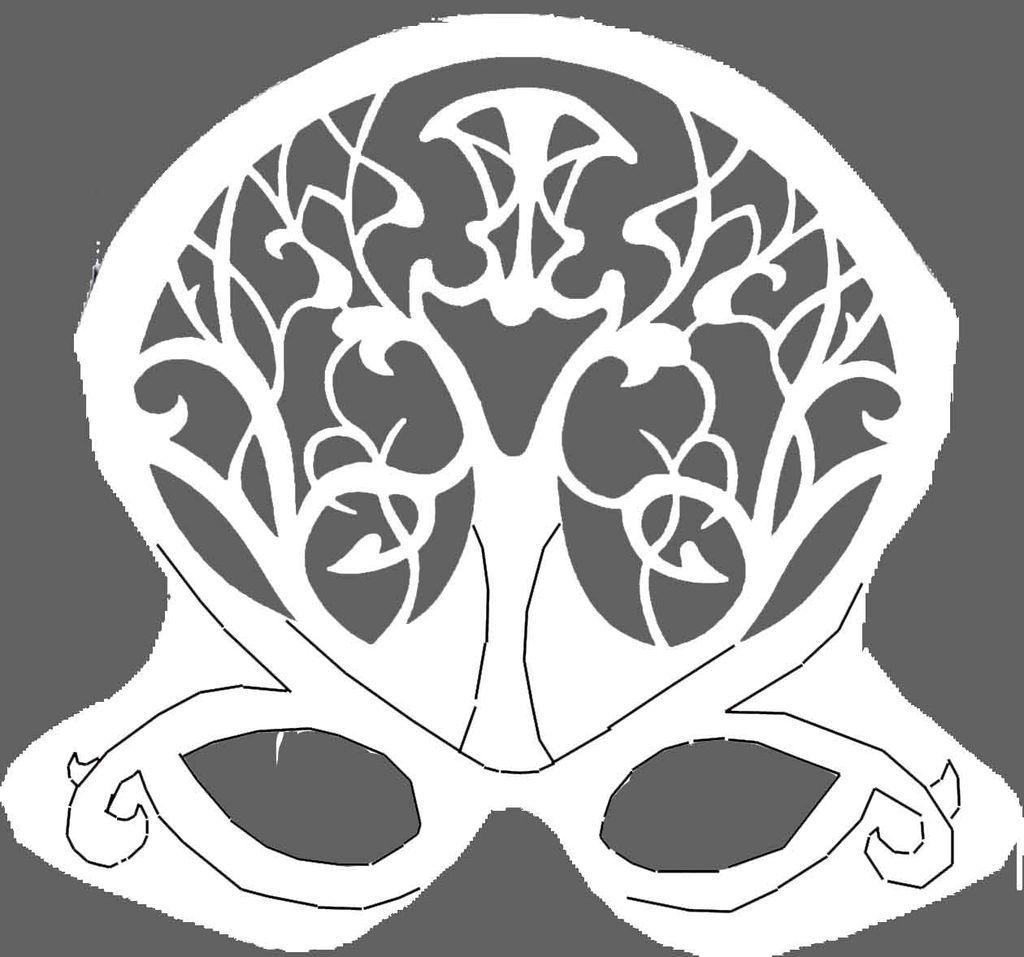 masquerade mask template printable | Masks | Pinterest | Masquerade ...