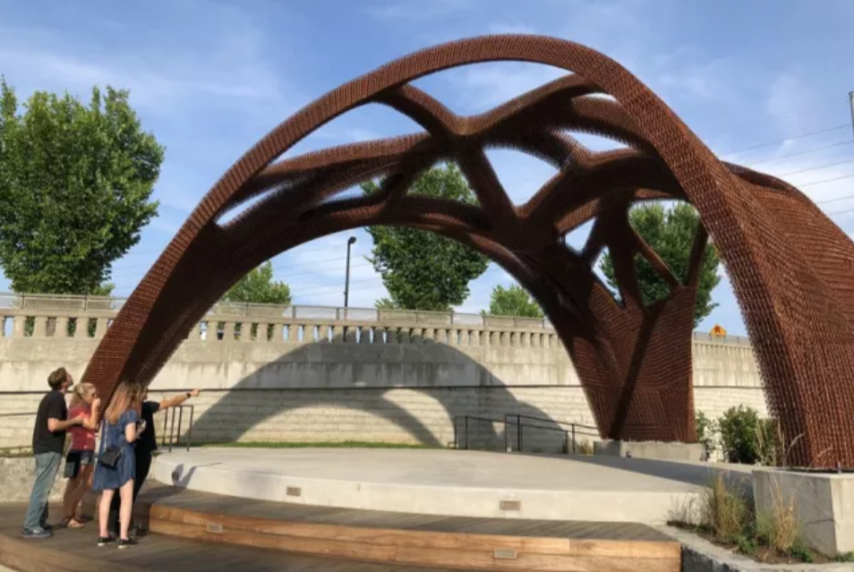 Branch Technology Creates Largest 3d Printed Structure Engineering Engineeringnews Engineer 3dprinter 3dprint 3d Printing Architecture Structures Prints