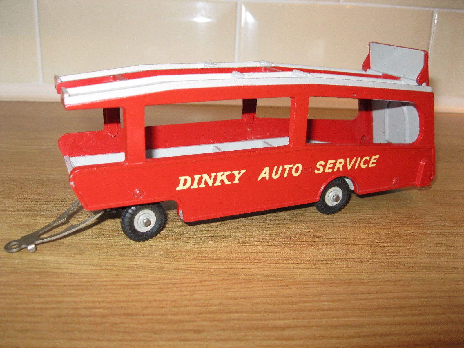 Dinky 985 Supertoys Car Carrier Trailer fantastic original vintage ...