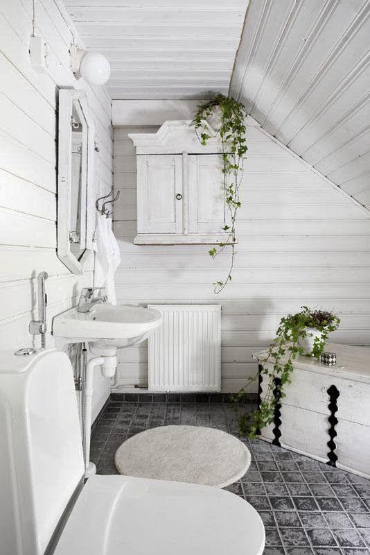 A white fairytail in Finland
