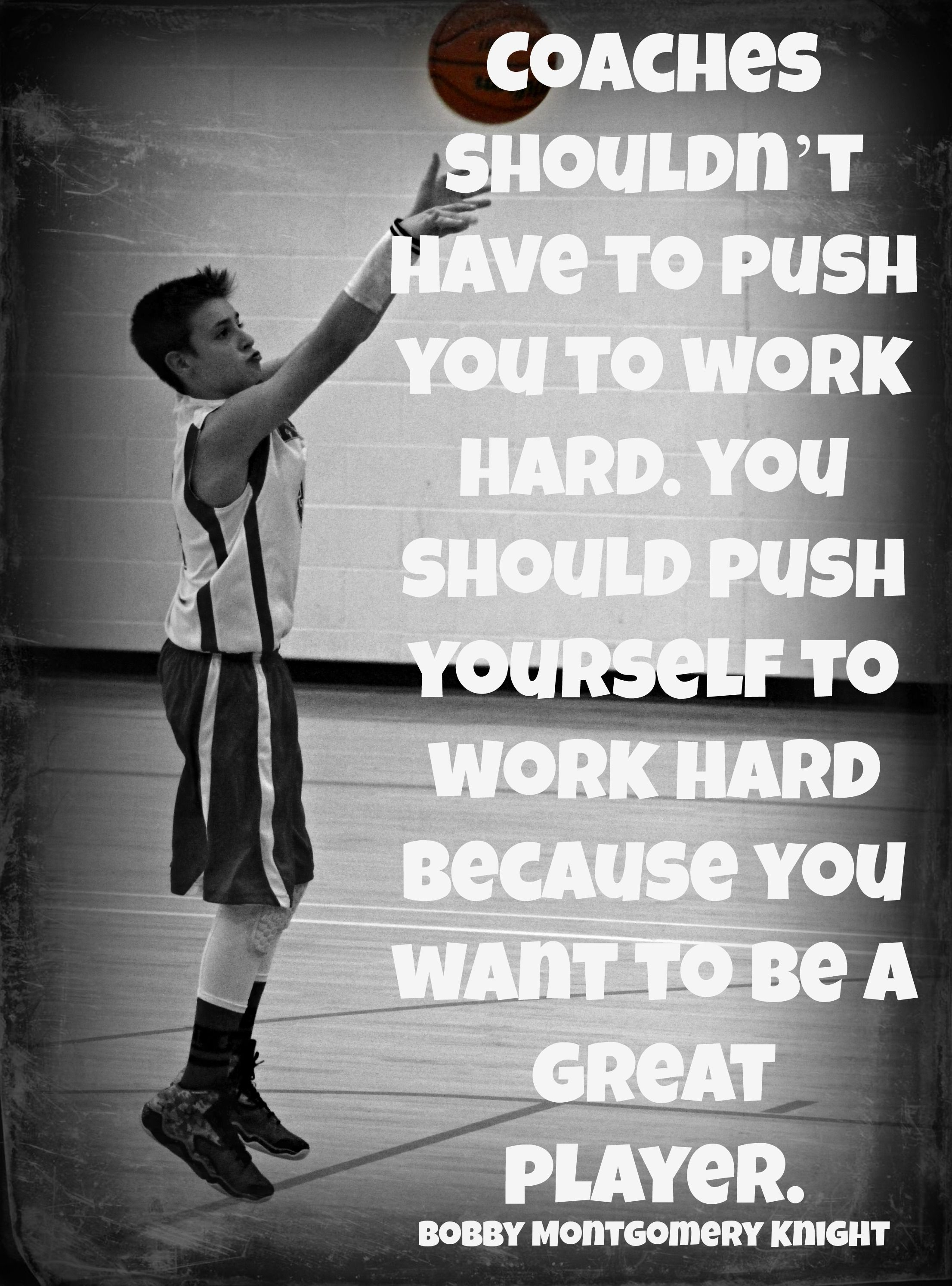 Great Basketball Quotes Basketball Quotes Bobby Knight  Basketball  Pinterest  Bobby