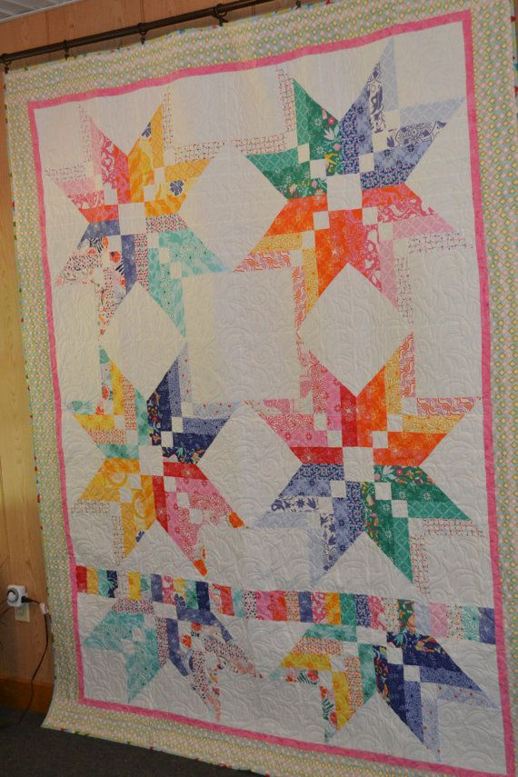 Binding Tool Star Quilt By Cottonhillquiltz On Etsy