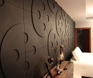 Modern Wall Paneling Designs this bedroom uses square wood panels to create a modern accent wall behind the bed 1000 Images About Collaboration Rooms On Pinterest Decorative Wall Panels 3d Wall Panels And 3d
