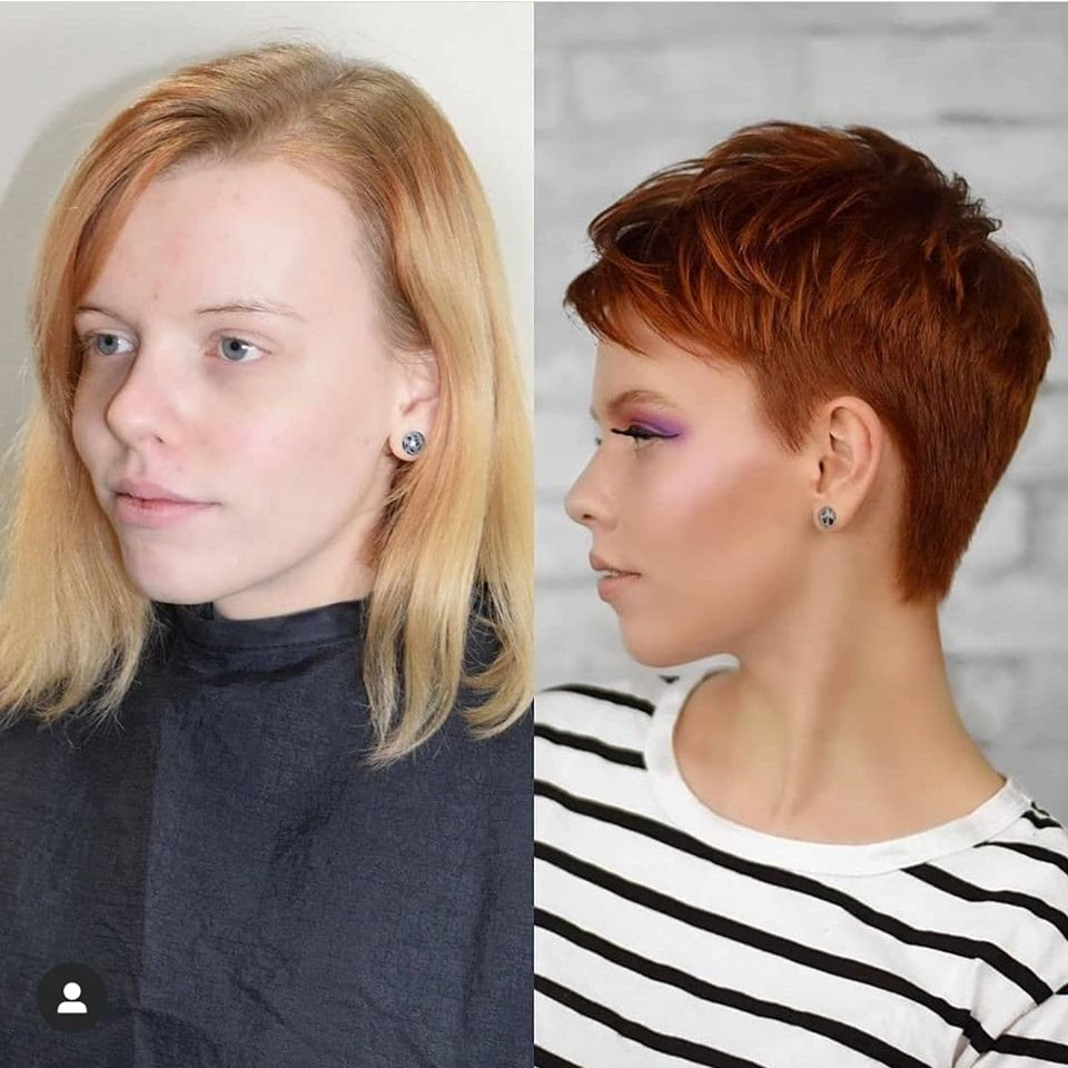 Before and after haircut styles for 2020–