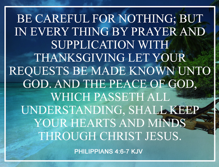 Image result for Philippians 4:6-7 kjv | Peace of god, Daily bible ...