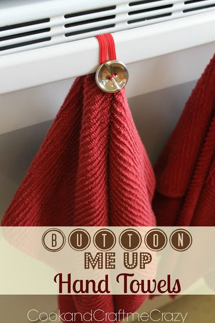 Button Me Up Hand Towels With Images Hand Towels Diy Sewing