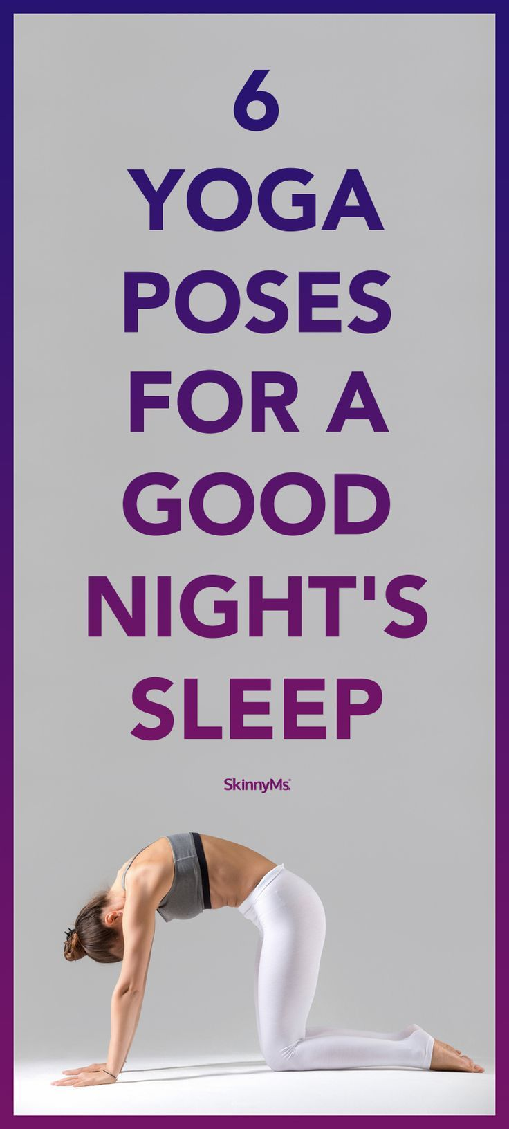 6 Yoga Poses For A Good Night S Sleep Yoga Anfanger Good Night Yoga Yoga
