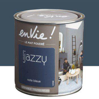 Peinture multisupports Envie Collection Jazzy LUXENS, note bleue - peinture satin ou mat