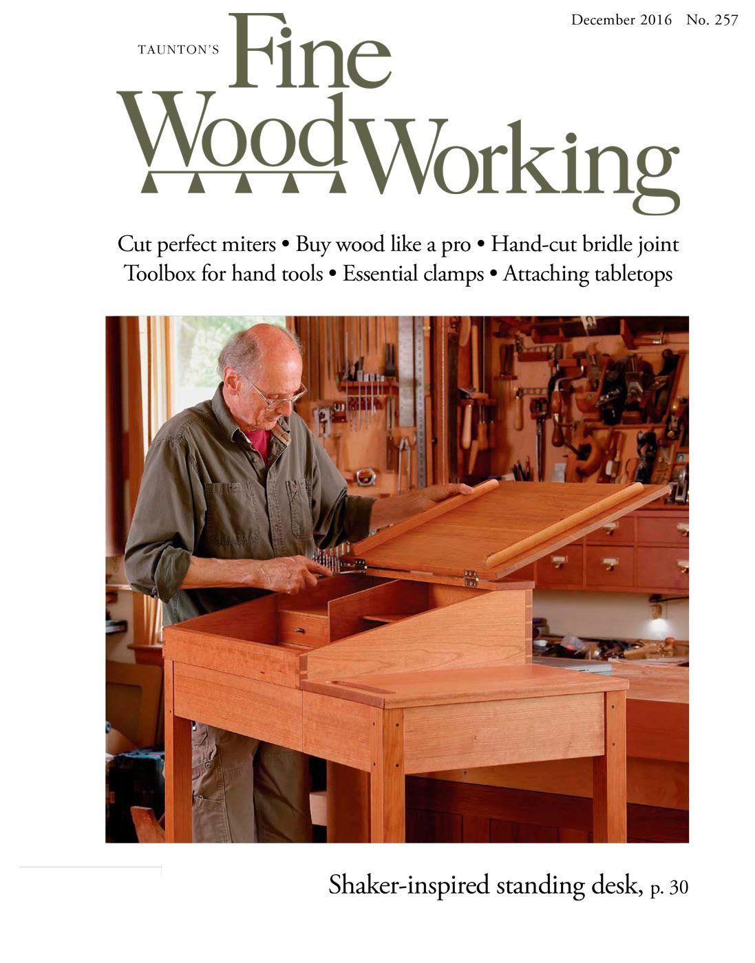 257 Nov Dec 2016 Finewoodworking My Interest Everything