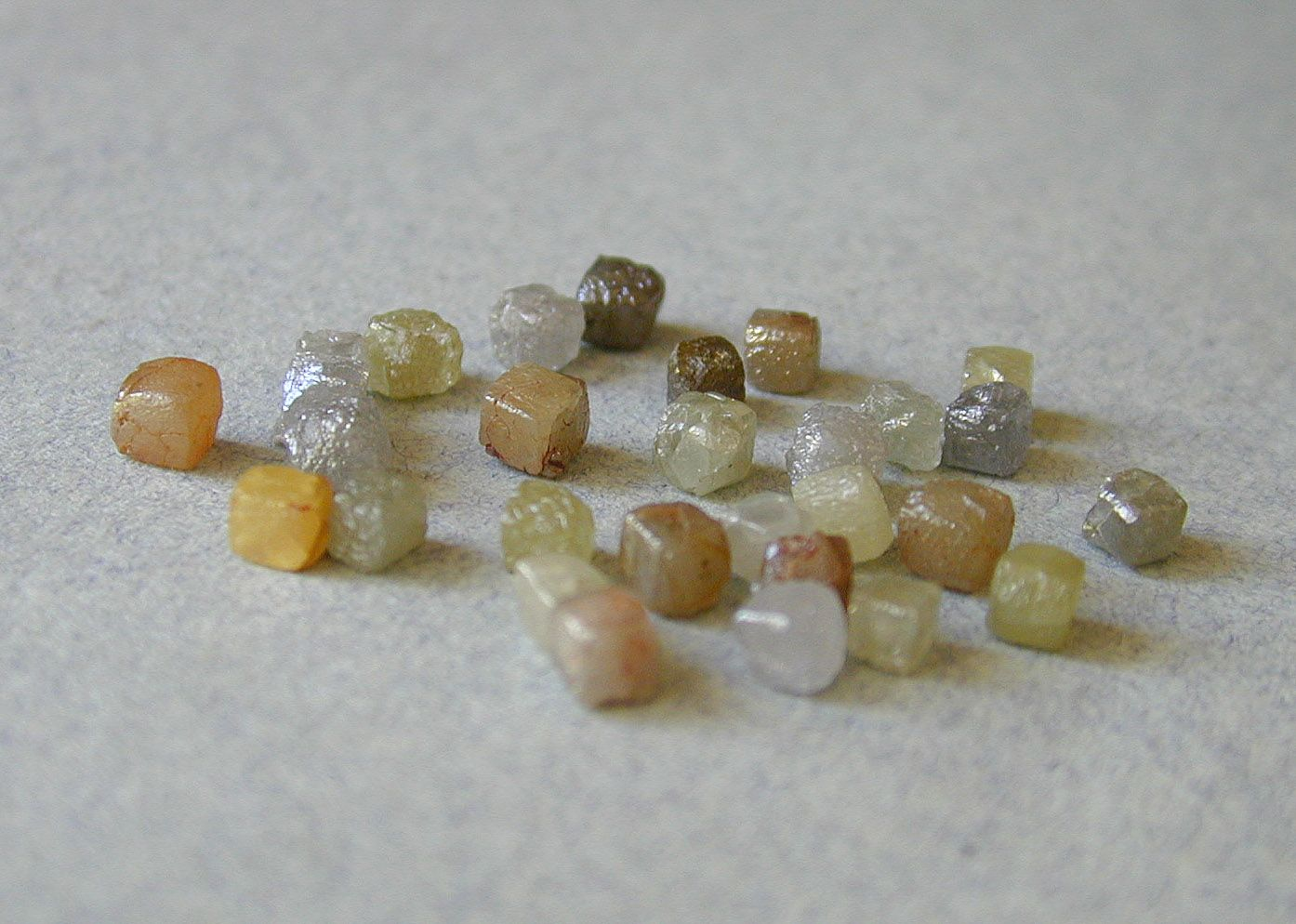 Raw Rough Diamond And Quotes: Rough Diamonds As They Are Found In Nature! Www