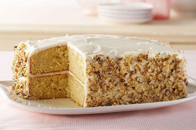 Banana Sour Cream Cake Recipe Sour Cream Cake Banana Sour Cream Cake Kraft Recipes