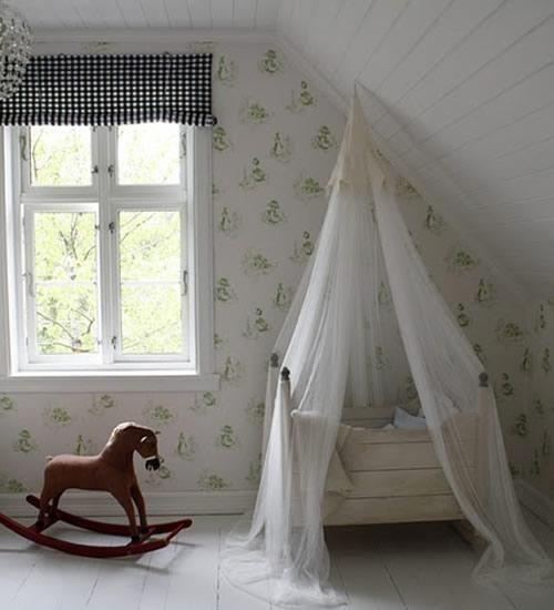 decoracion-bebes-cuna-dosel1 | Muebles de Bebés | Pinterest ...