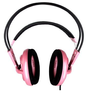 Steel Series Gaming Headset in Iron Lady Pink