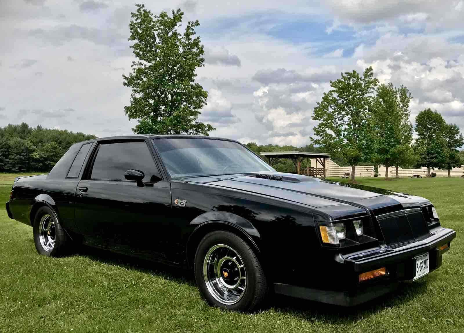 Buick Regal Grand National T Type Turbo 3 8 V6 1986 For Sale Buick Regal Buick Grand National Grand National