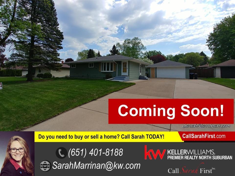 Home for sale in roseville mn 2960 galtier street