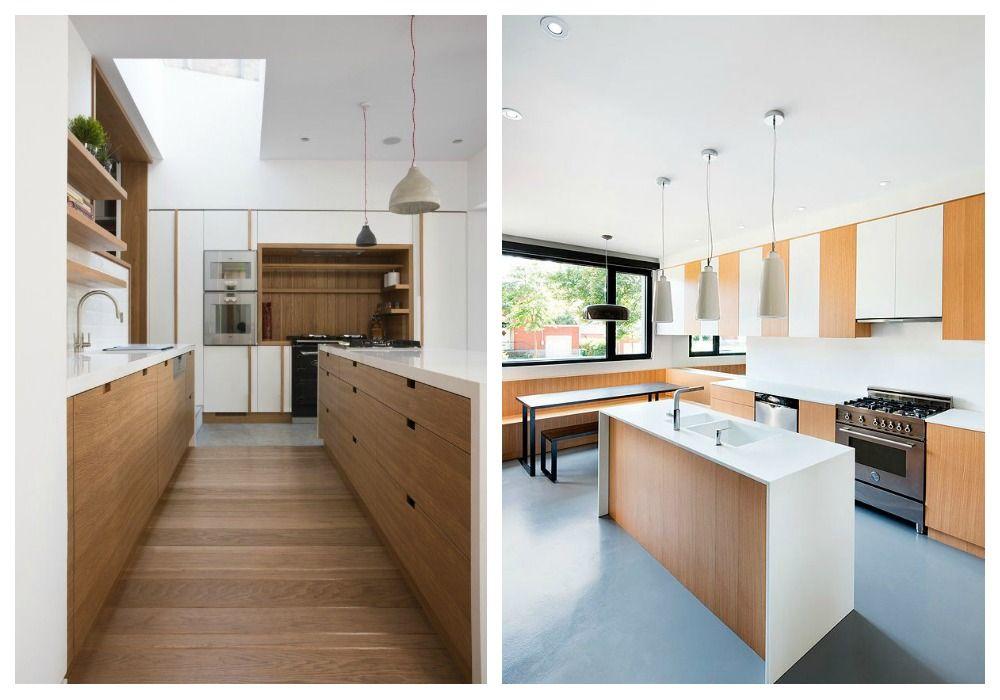 Madera blanco cocina buscar con google cocinas - Cocina blanca encimera madera ...