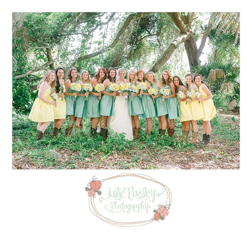 Creative Bridesmaids Dresses | Wedding Style | Julie Paisley Blog | Julie Paisley Photography
