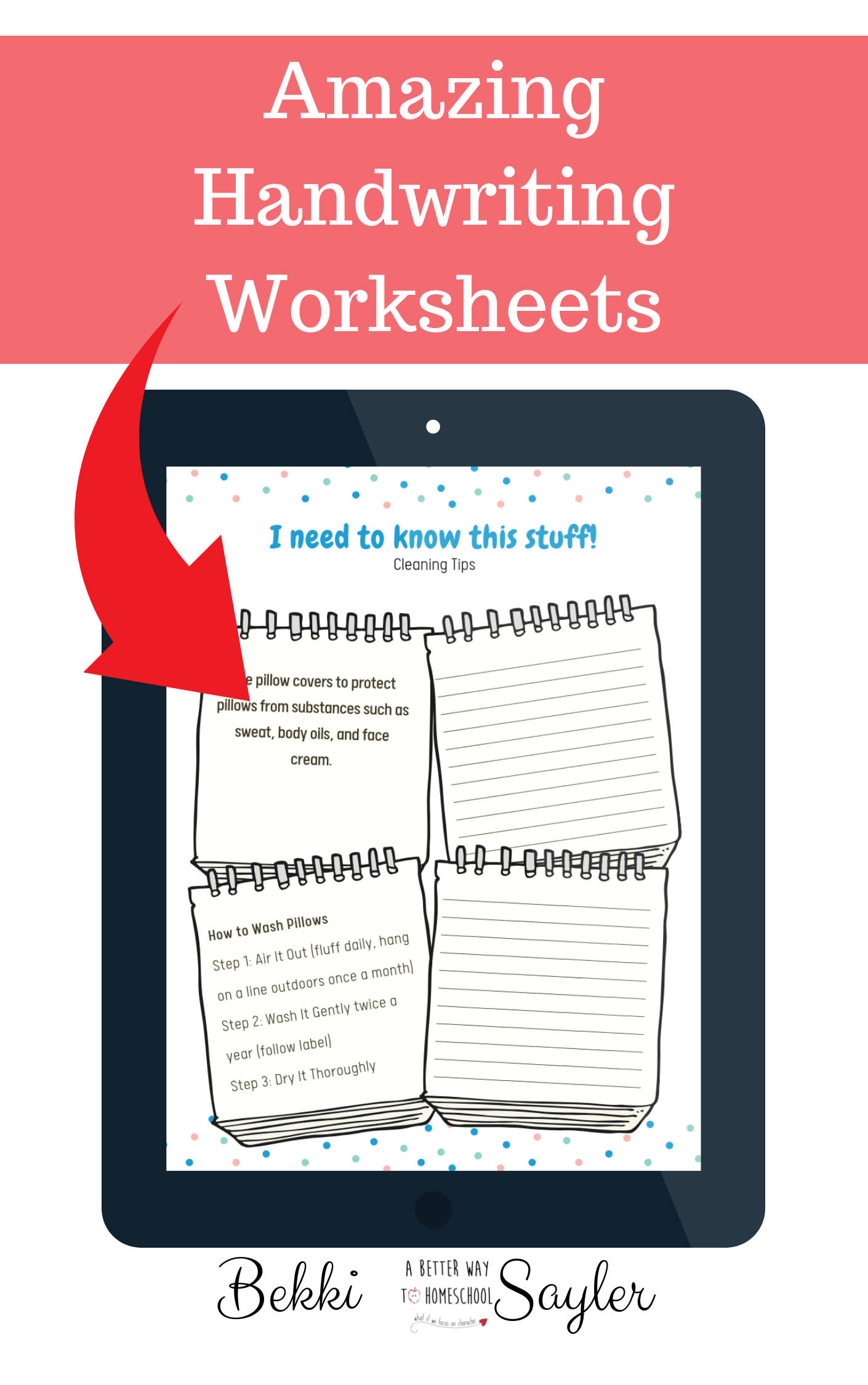 These Amazing Handwriting Worksheets Use Life Skills