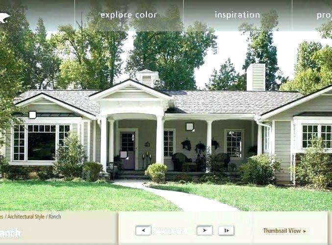 Exterior House Colors For Ranch Style Homes Exterior Paint Ideas For Older Ranch In 2020 Exterior House Colors Exterior Paint Colors For House House Paint Exterior